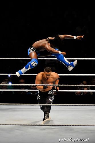 The Raw Wrestlemania Revenge Tour 2012, wrestling,SmackDown,akrobatyka,aktorstwo,,Ergo Arena,Gdańsk,Kofi Kingston,Primo,R-Truth